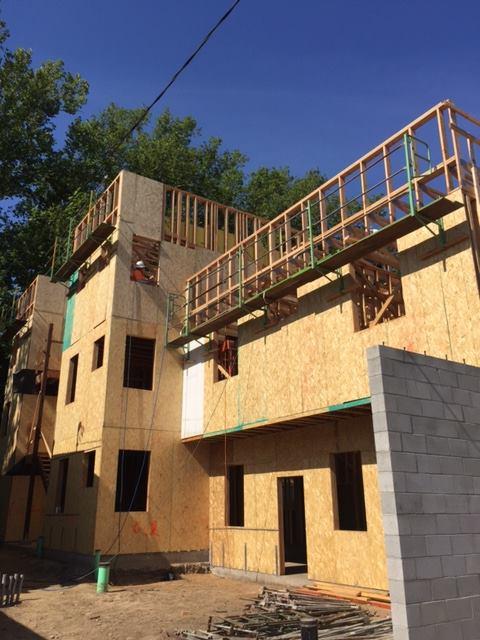 Construction progress at 515 T