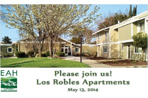 Invitation to Los Robles Grand Opening