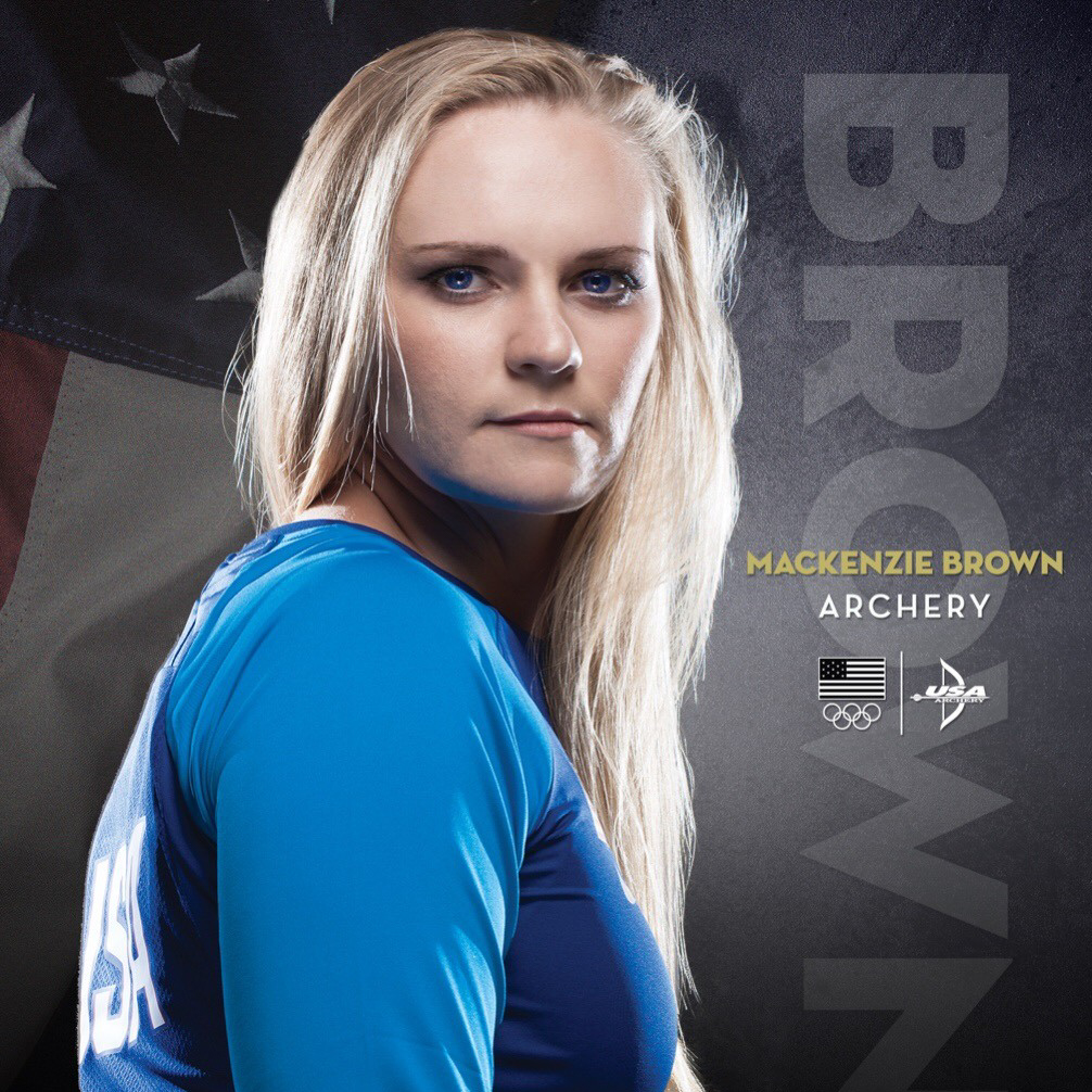 U.S. Olympic Archery Team - Mackenzie Brown