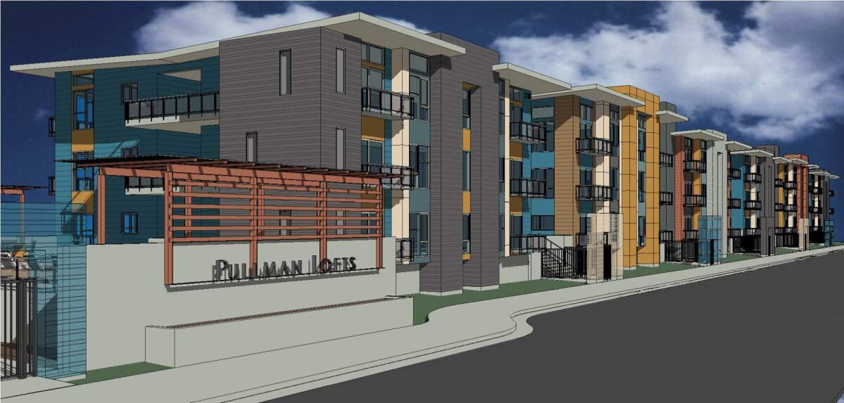 Pullman Lofts Rendering
